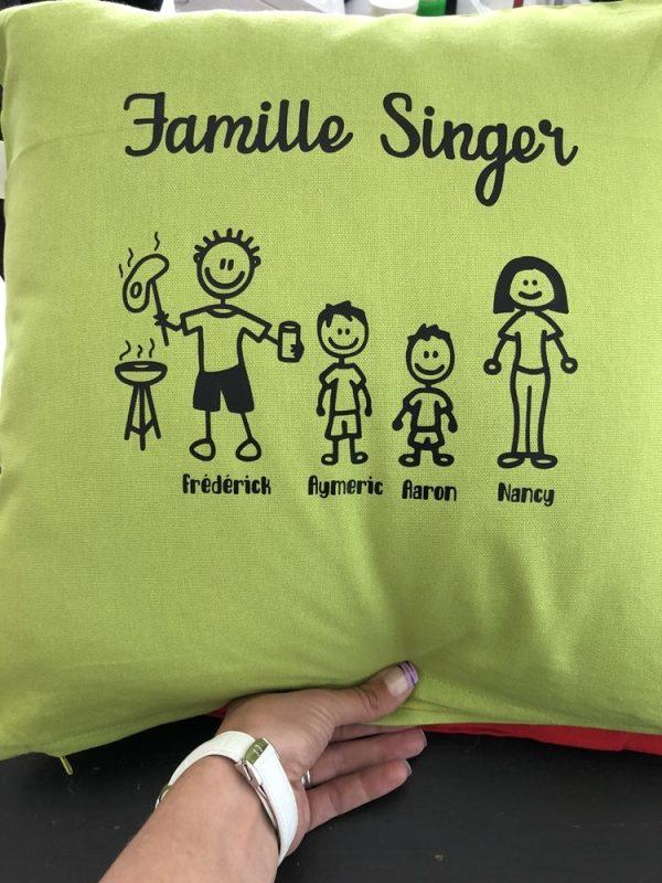 Famille vert